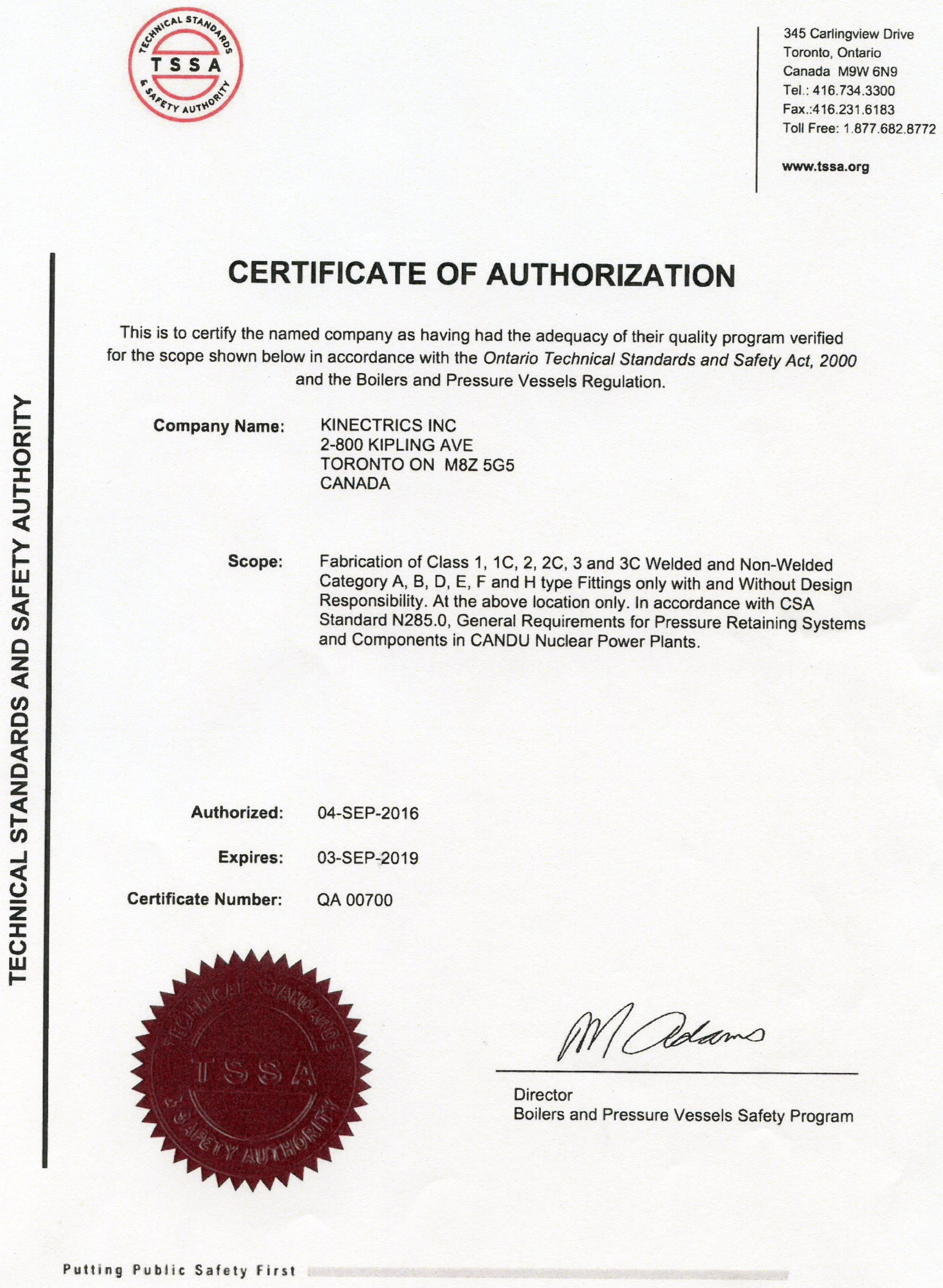 Quality management b51 certificate of authorization 1betcityfo Choice Image