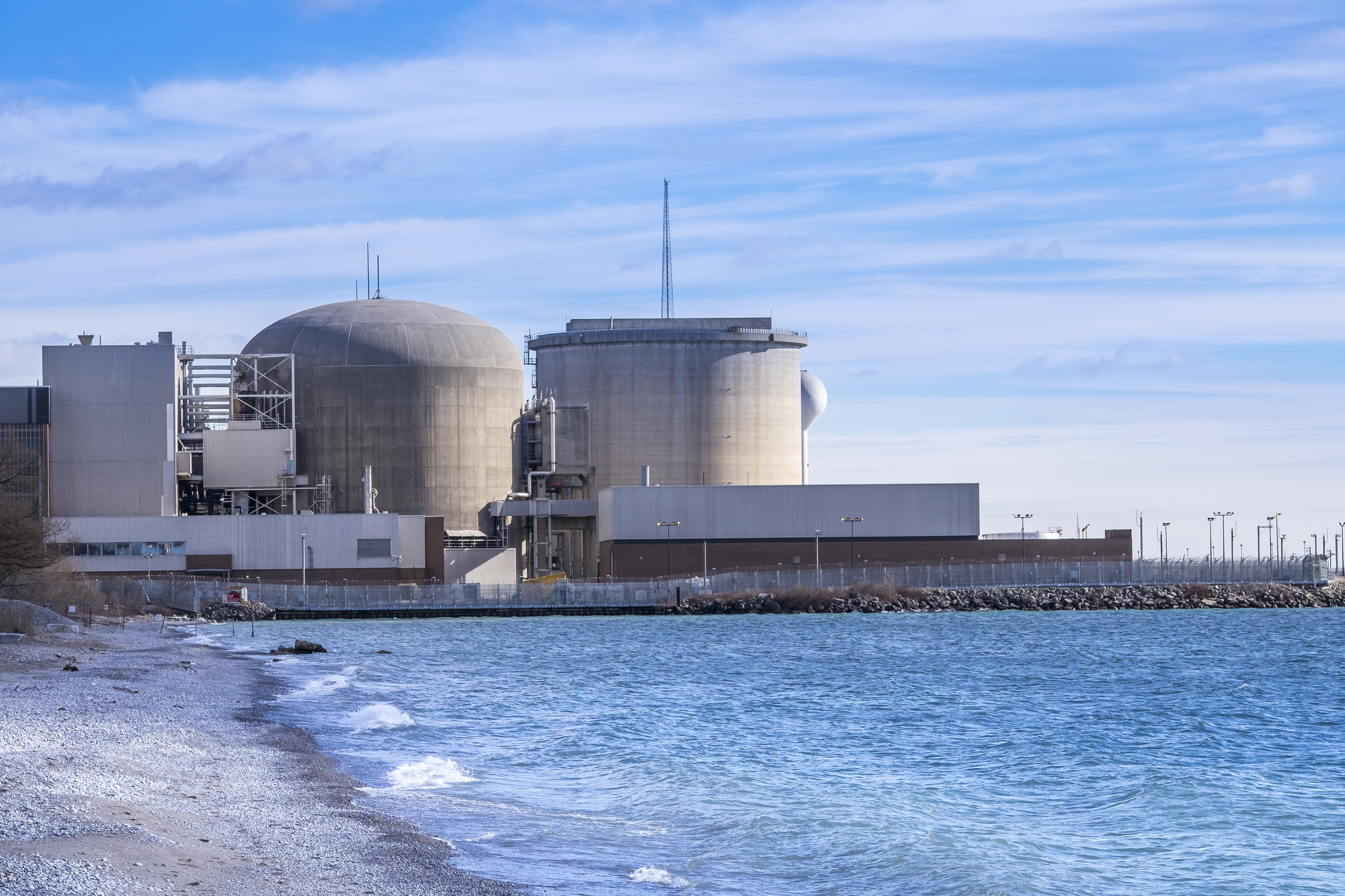 Picture of nuclear power plant