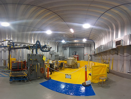 360 view of a Kinectrics nuclear lab
